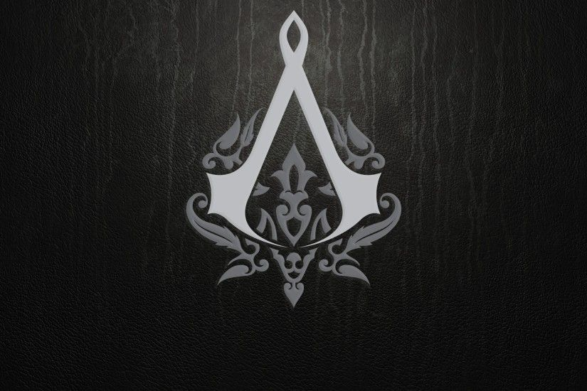 Preview wallpaper assassins creed, emblem, background, sign 2560x1440