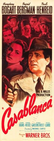 Marvelous Casablanca Film Poster And Creative Ideas Of 1942 Movie Posters 20