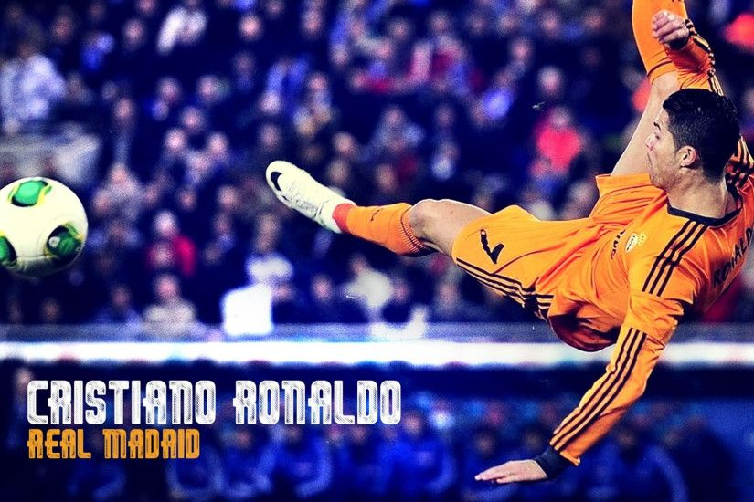 Cristiano Ronaldo bicycle kick wallpaper