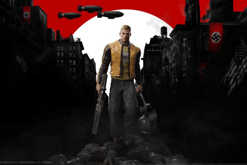 ... Wolfenstein 2: The New Colossus wallpaper or background 01