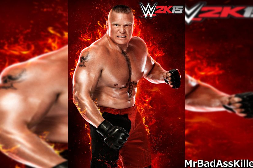 ... Brock Lesnar WWE 2k'15 Wallpaper by Fabian-Winchester