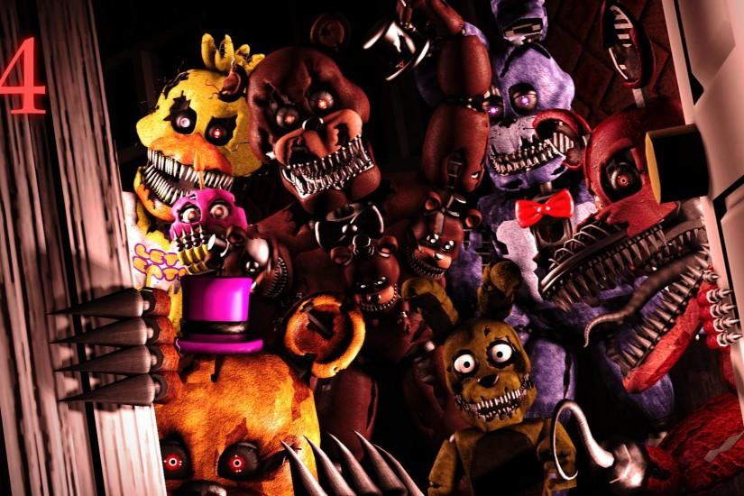 download free five nights at freddys wallpaper 1920x1080