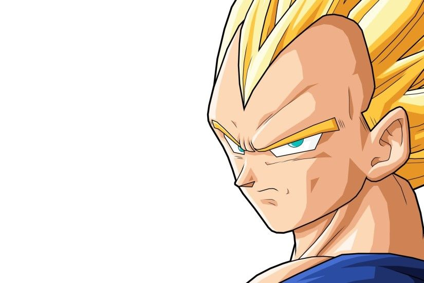 Preview wallpaper vegeta, boy, blond, serious 2560x1440