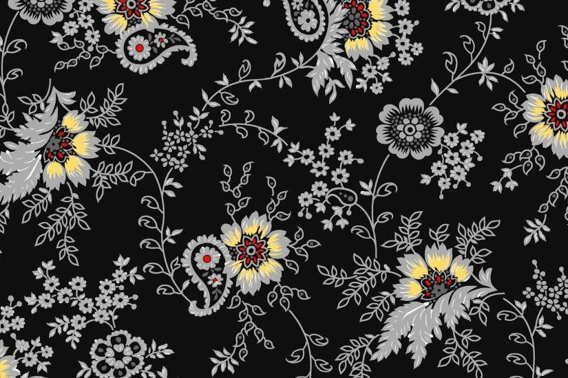Preview wallpaper background, flowers, color, pattern 1920x1080