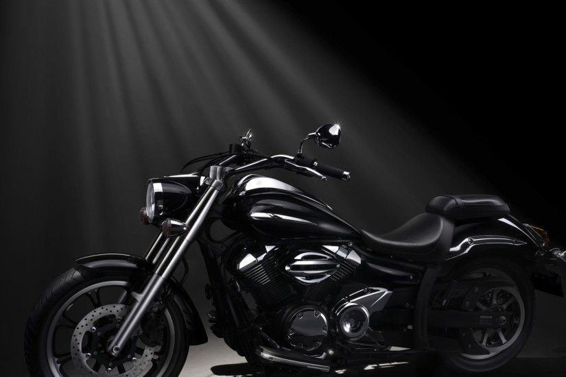 Preview wallpaper yamaha, xvs950a, midnight star, motorcycle 1920x1080