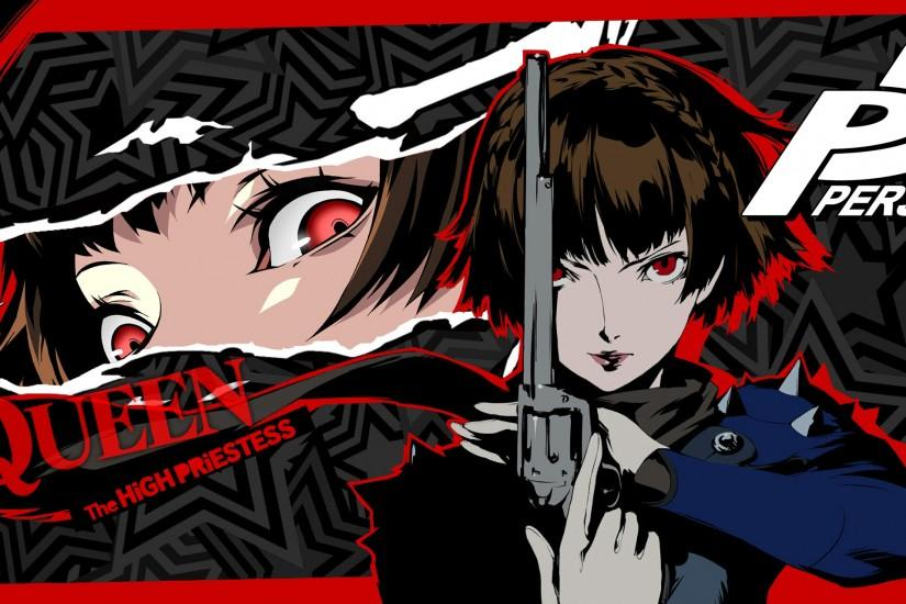 top persona 5 wallpaper 2560x1280