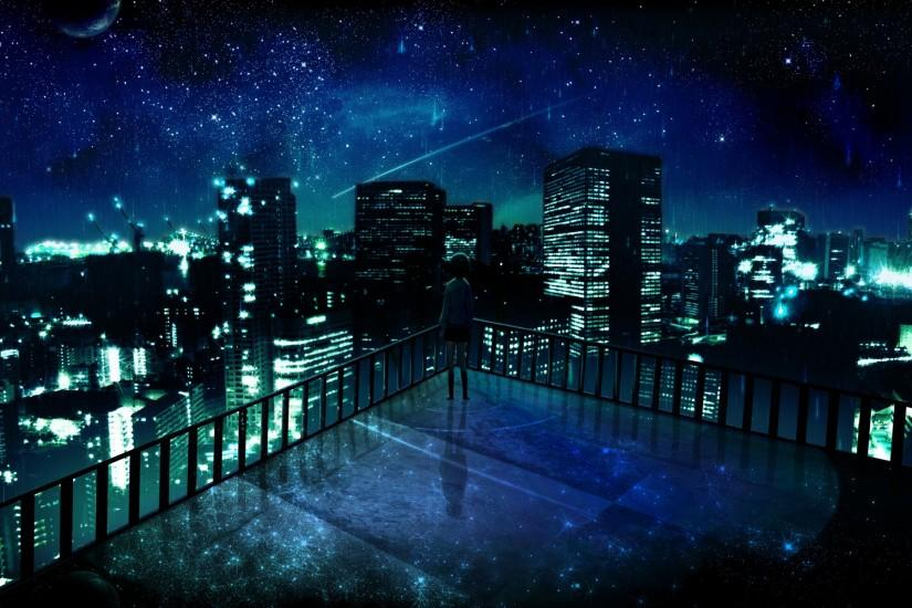 free download dark anime scenery wallpaper 1920x1200