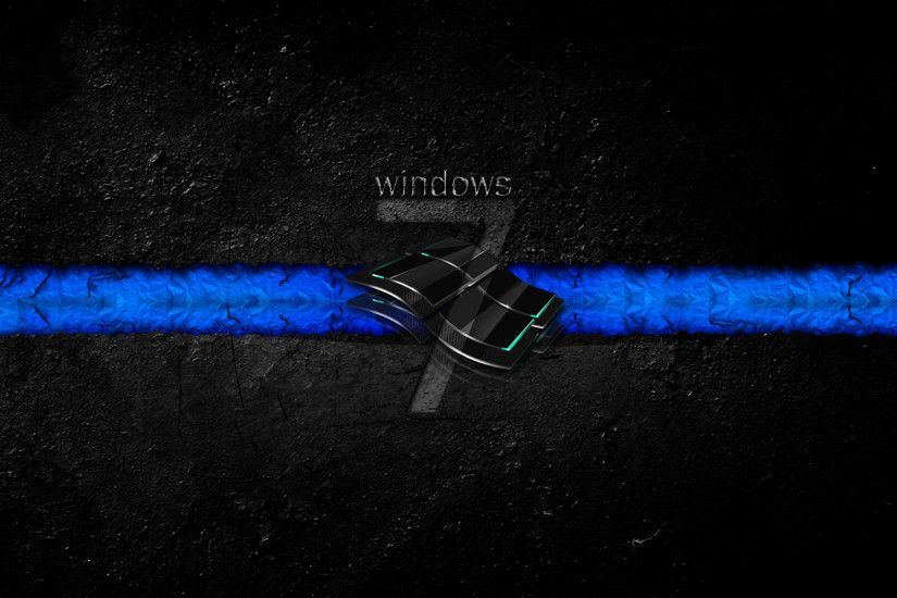 Windows 7 Black Wallpaper Hd 23 Widescreen Wallpaper