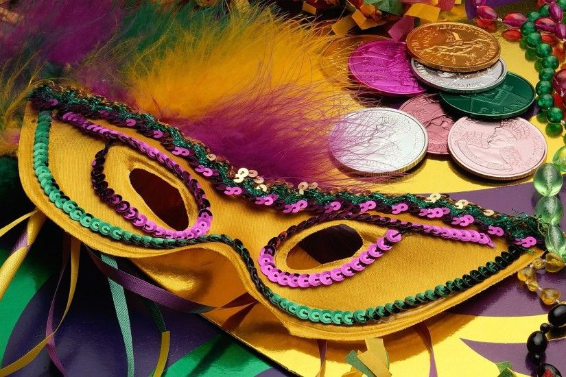 free mardi gras desktop wallpaper