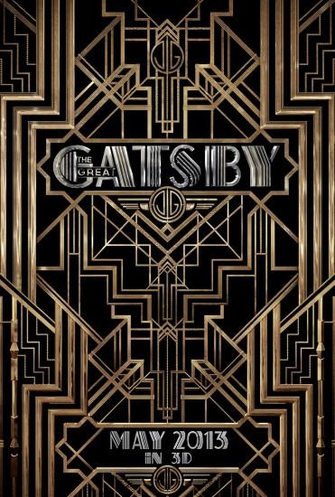 The Great Gatsby - typefaces used: Atlas, Atlas Solid, ITC Avant Garde  Gothic. Art Deco ...