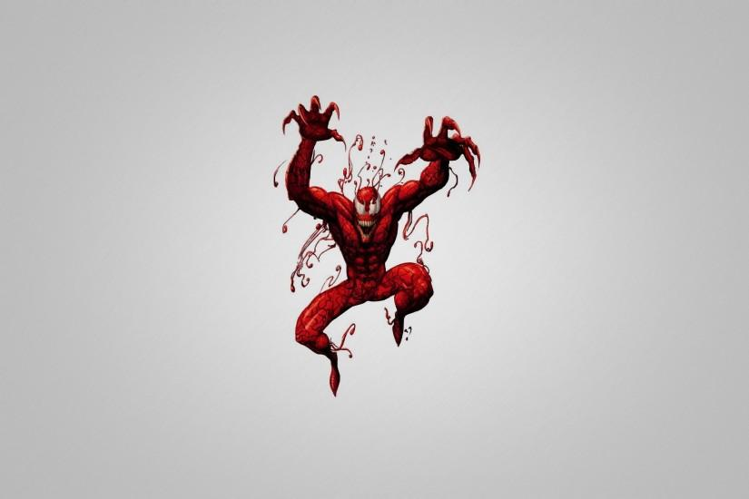 Spider-Man Carnage Illustration wallpapers and stock photos