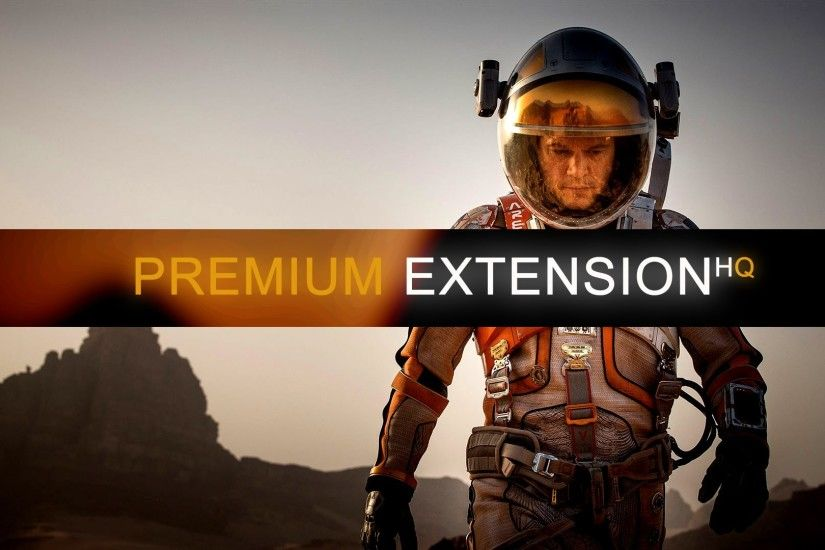 The Martian Movie Premium Extension Wallpaper