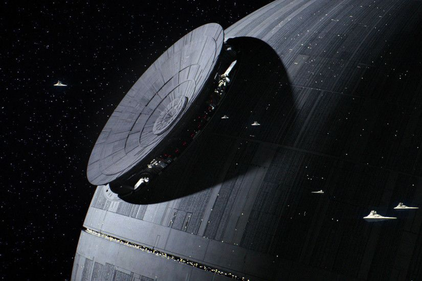 Star Wars Rogue One - Death Star 3840x2160 wallpaper