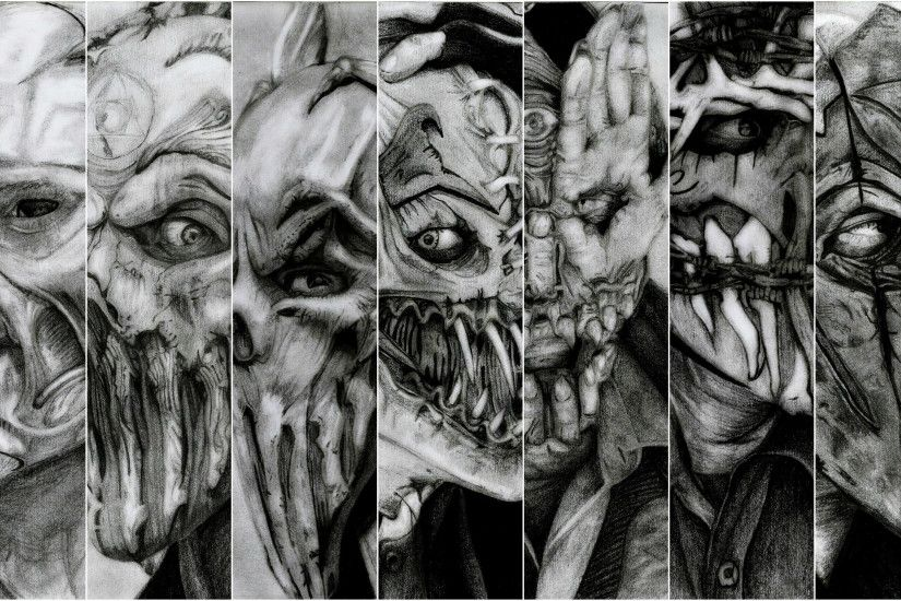 ... PC.874: Mushroomhead Wallpapers (3400x2000) ...