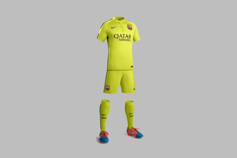 Wallpaper: FC Barcelona Team Equipment