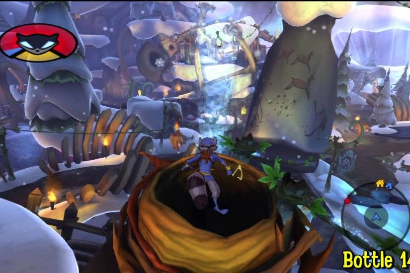 Sly Cooper Thieves in Time: Episode 3 - Gungathal Valley - All 30 Bottles -  HTG - YouTube