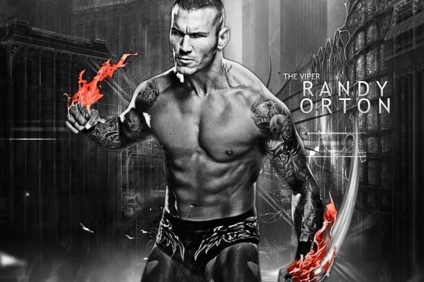 Randy Orton The Viper Wallpaper