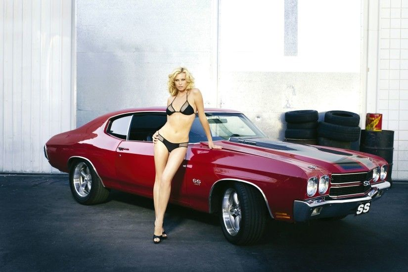 Vehicles - Chevrolet Chevelle SS Girls & Cars Red Car Car Vehicle Muscle  Car Chevrolet Chevrolet