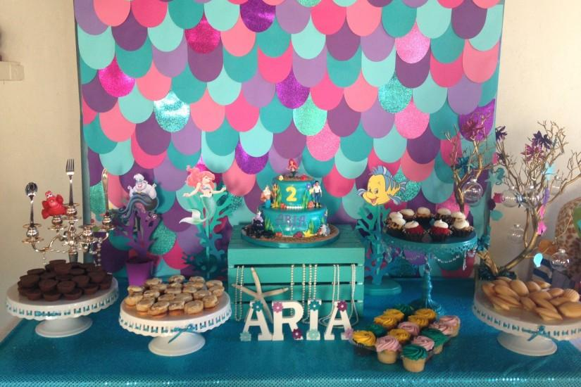 Under the Sea themed party. Under the sea backdrop. The little mermaid  themed party. The little mermaid party , backdrops, Scales background.