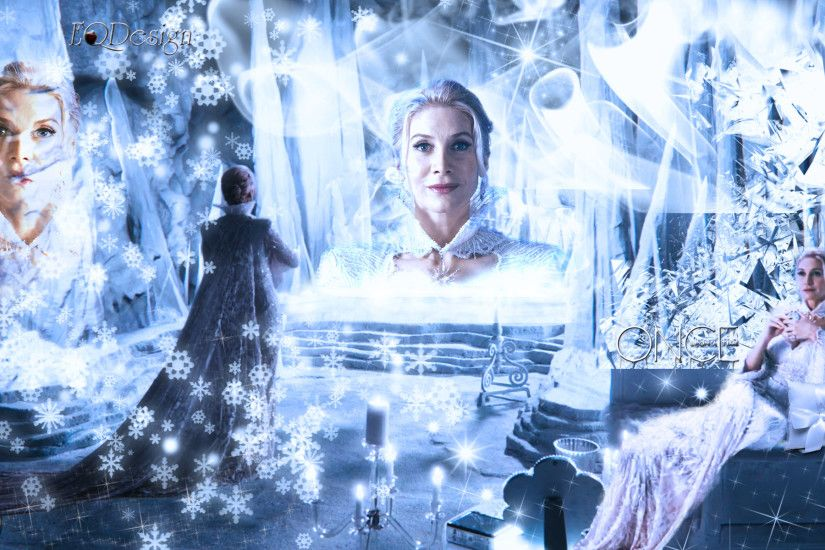 ... Snow Queen - Elizabeth Mitchell - Once Upon a Time by eqdesign