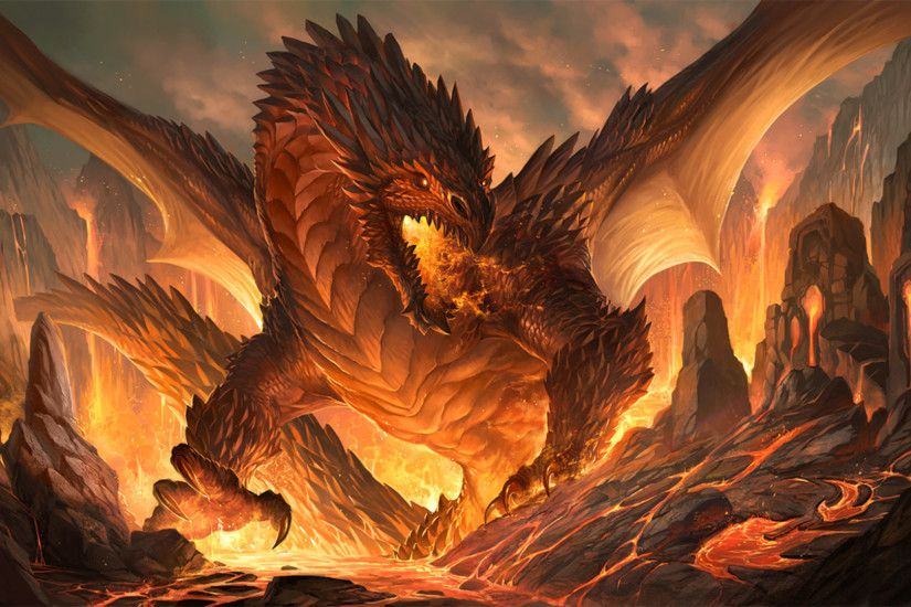 Fire Dragon Wallpaper - wallpaper.