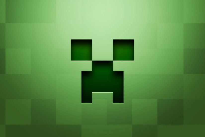 Preview wallpaper minecraft, background, graphics, green 1920x1080