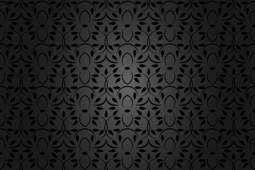 Black Pattern Wallpaper Free Vector Preview
