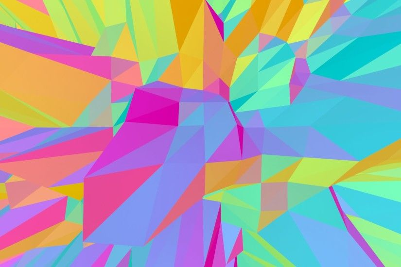 Dancing moving rainbow triangles - HD animated background #76 - YouTube