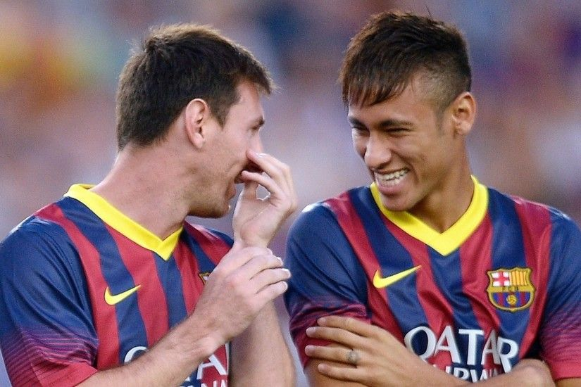 ... Messi Y Neymar Wallpaper Hd HD Wallpaper