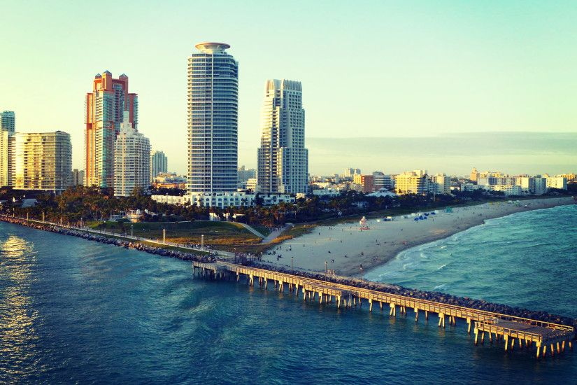 Miami Beach Wallpaper - WallpaperSafari