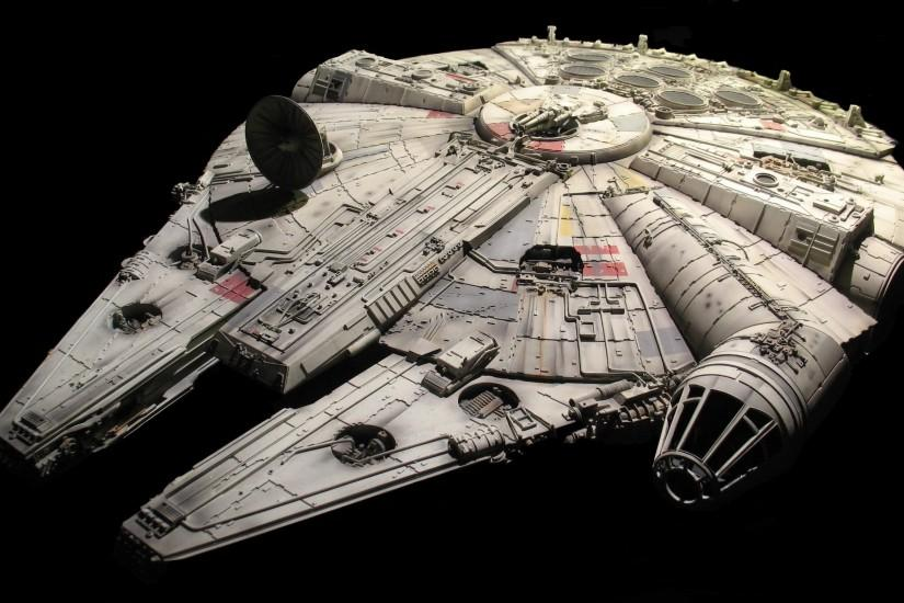 Star Wars, Millennium Falcon Wallpaper HD