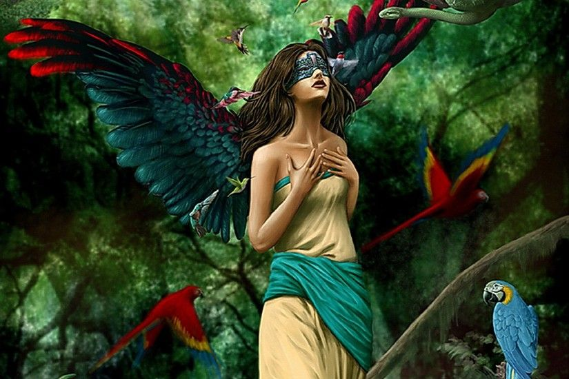 fantasy angels and fairies | Fantasy - Angel Wallpaper