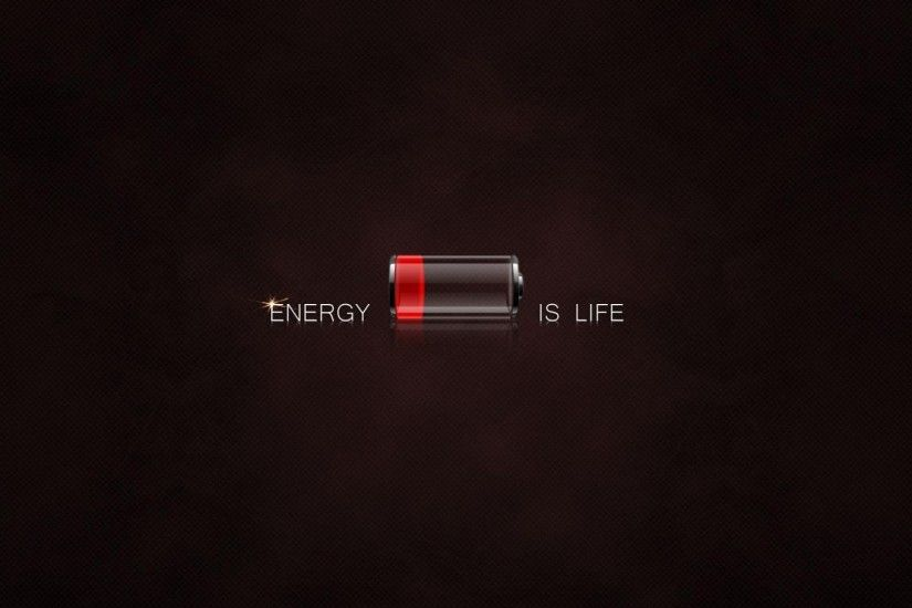 3D Life Like A Battery Wallpaper | HD 3D and Abstract Wallpaper Free  Download ...