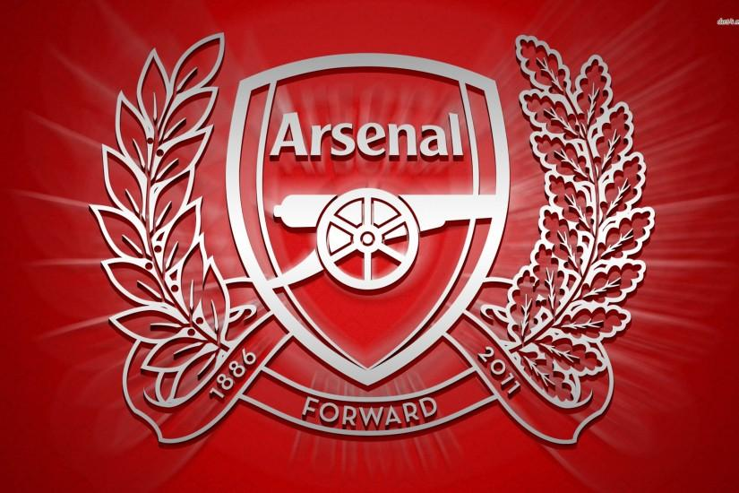 Arsenal F.C. logo wallpaper - Sport wallpapers - #7381
