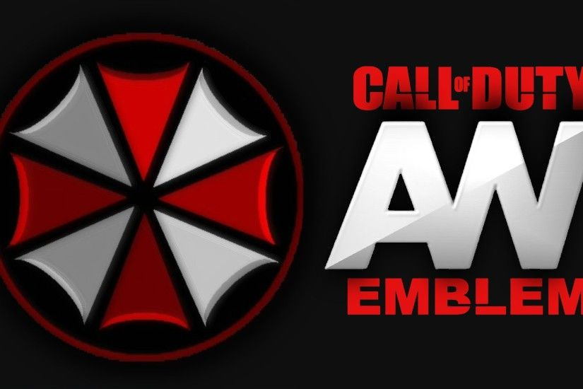 "Advanced Warfare - UMBRELLA CORP - Emblem Tutorial COD AW ""Resident Evil  Logo"" Screetch2009 - YouTube"