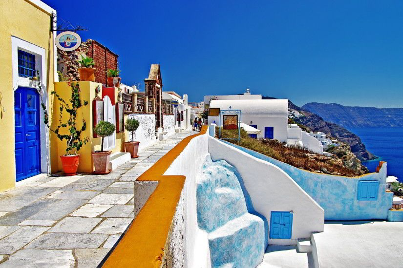 santorini+oia | Greece oia santorini Wallpapers Pictures Photos Images