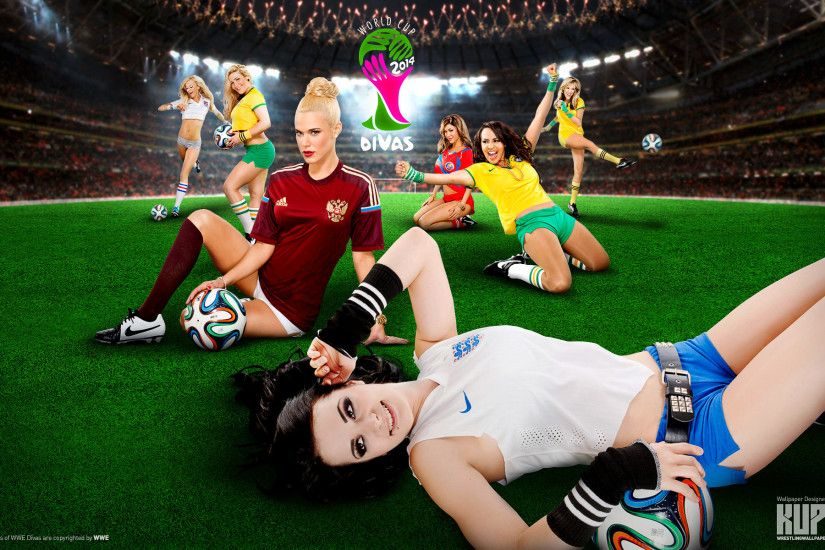 WWE Divas World Cup wallpaper 1920×1200 ...