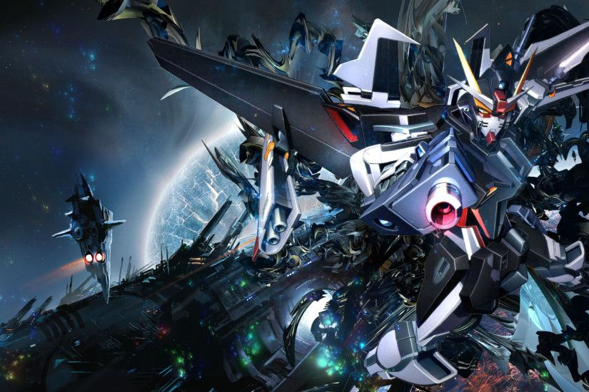 Gundam Battle HD Wallpaper