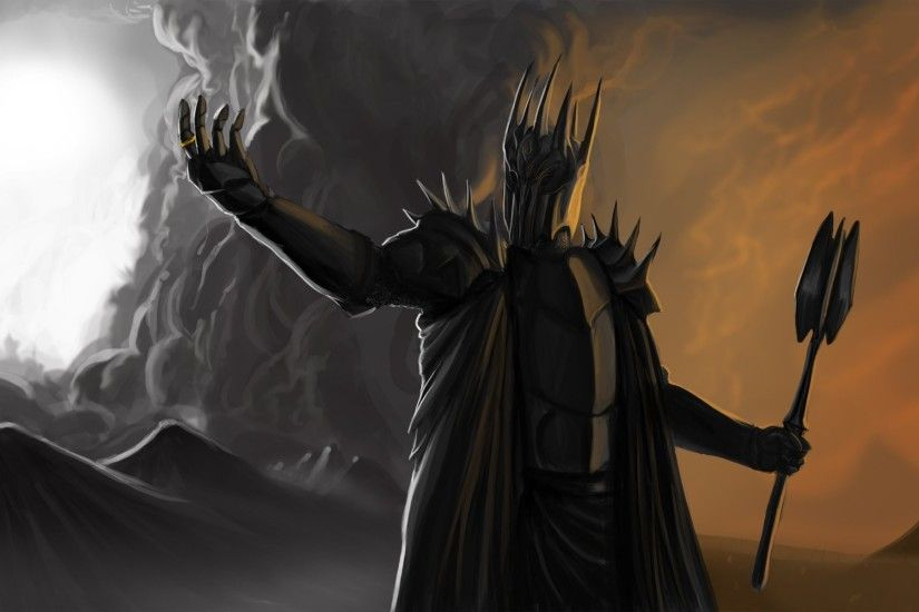 Arts Lord Of The Rings Dark Lord Sauron Wallpaper At Dark Wallpapers