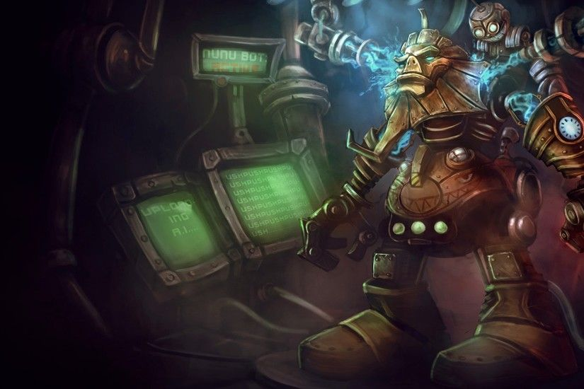 Nunu bot league of legends hd wallpaper