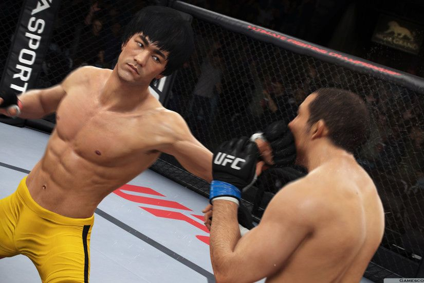 EA Sports UFC 2 Bruce Lee HD Wallpaper 1920x1080
