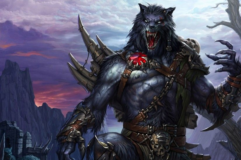 Werewolf HD Backgrounds.