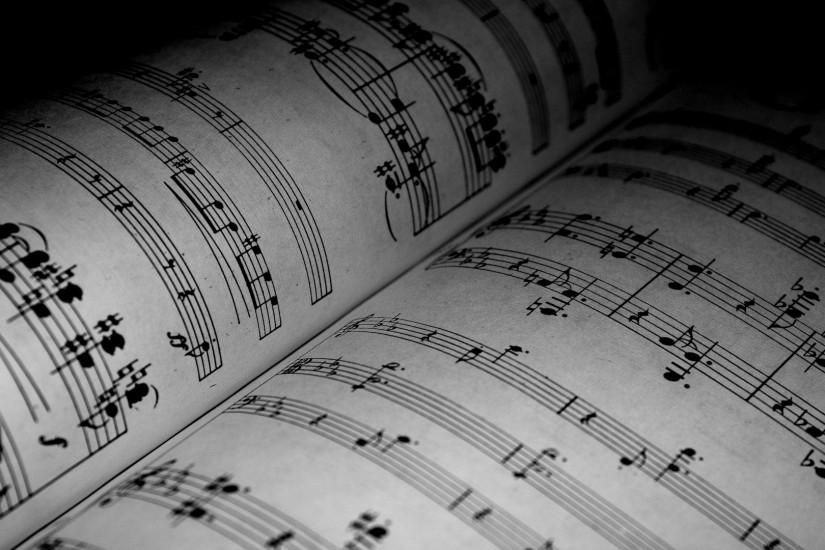 music notes wallpaper 1920x1080 mac