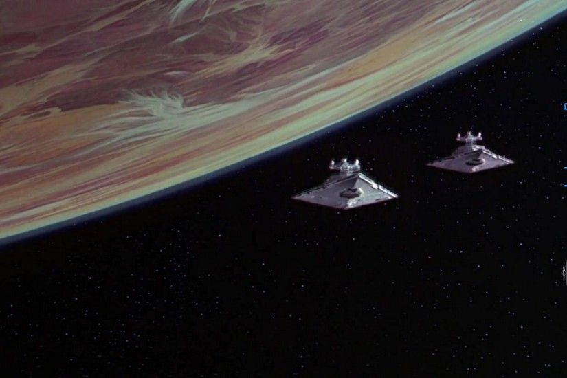 Star Wars Episode 4 Imperial Star Destroyers Over Tatooine