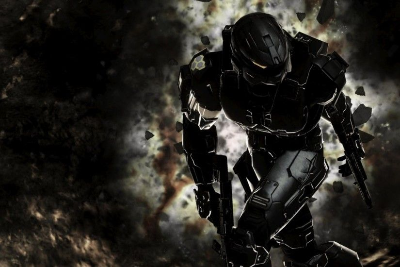 Preview wallpaper halo, master chief, spartan, halo 3 3840x2160