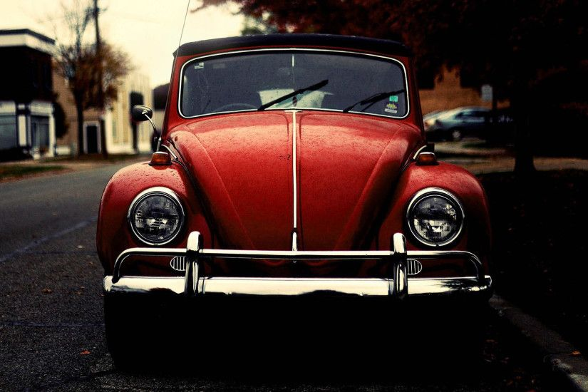 Bug Beetle Classic Car Wallpaper HD
