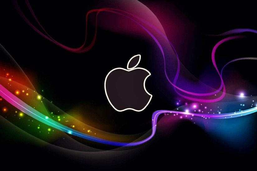 HD Cool Apple Logo with Abstract Background Wallpapers - HD Desktop  Wallpaper