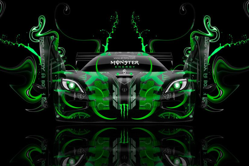Monster-Energy-Koenigsegg-Agera-Open-Doors-Fantasy-Green-
