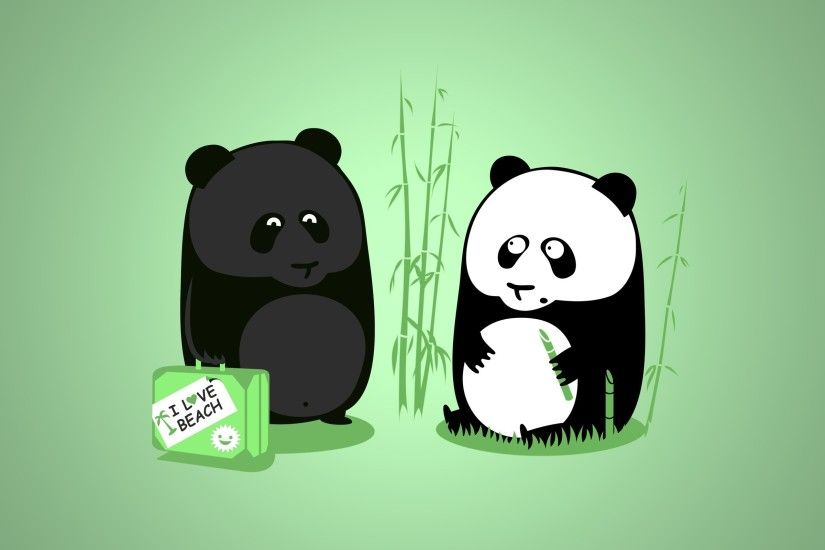 Tanned panda wallpaper background images pictures.