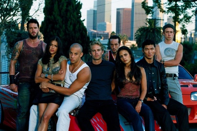 Movie - The Fast And The Furious Brian O'Conner Paul Walker Jordana  Brewster Letty
